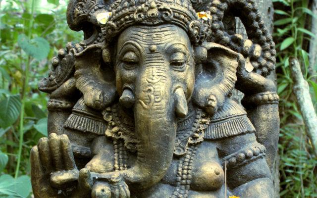 Statue de Ganesh partie haute du corps